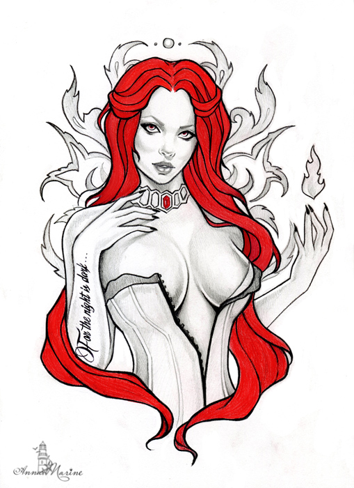 Melisandre by Anna-Marine