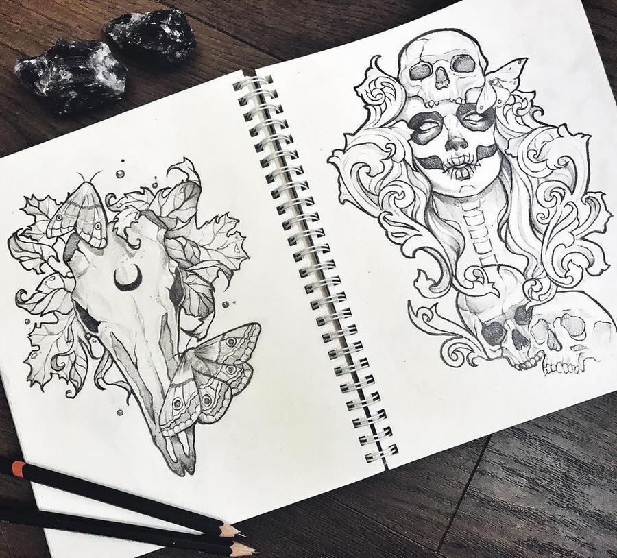 Sketchbook by Anna-Marine