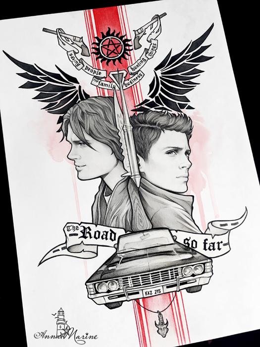 Supernatural by Anna-Marine
