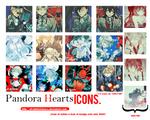 Pandora Hearts Icon Pack