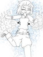 Magic girl by PeopleDraw2