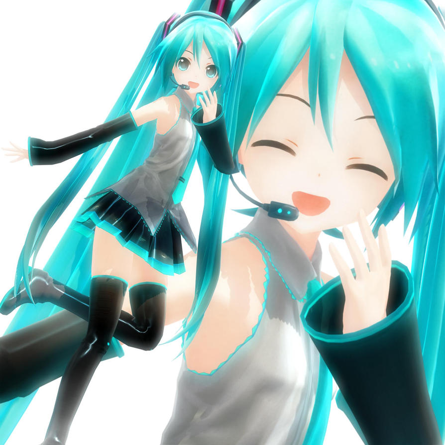 3d mmd sultry hatsune miku bangs amp dances in follow the leader 2