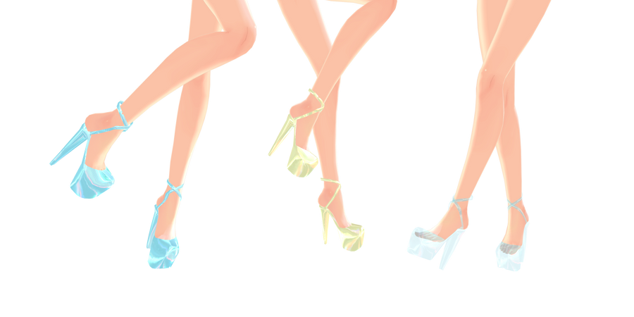 YS Heeled Sandals - DOWNLOAD by YamiSweet