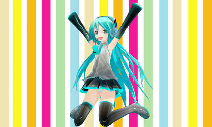 Appearance Miku - long hair (Model download) by YamiSweet