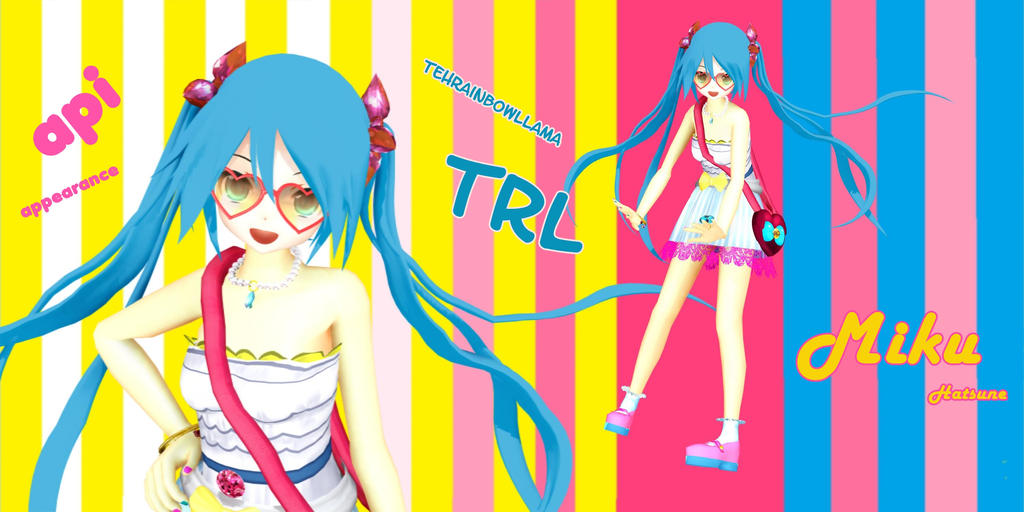 TRL Miku (Appearance) Download by YamiSweet