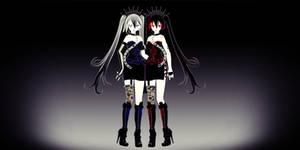 Gothic Zatsune + Hagane Miku - DOWNLOAD