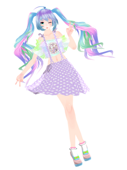 Harajuku Miku (model DOWNLOAD) by YamiSweet