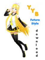 YYB Rin (future style) DOWNLOAD by YamiSweet