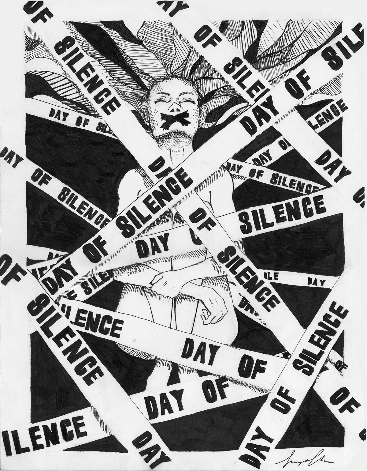 Day Of Silence by Soy-lips