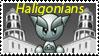 haligonians Stamp by adambarefoot