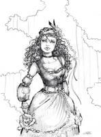 Gipsy Lady by JustMeOnyX
