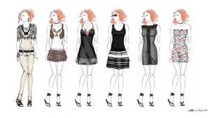 My wardrobe - part I by JustMeOnyX