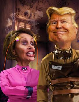 Pelosi, crazy says Trump