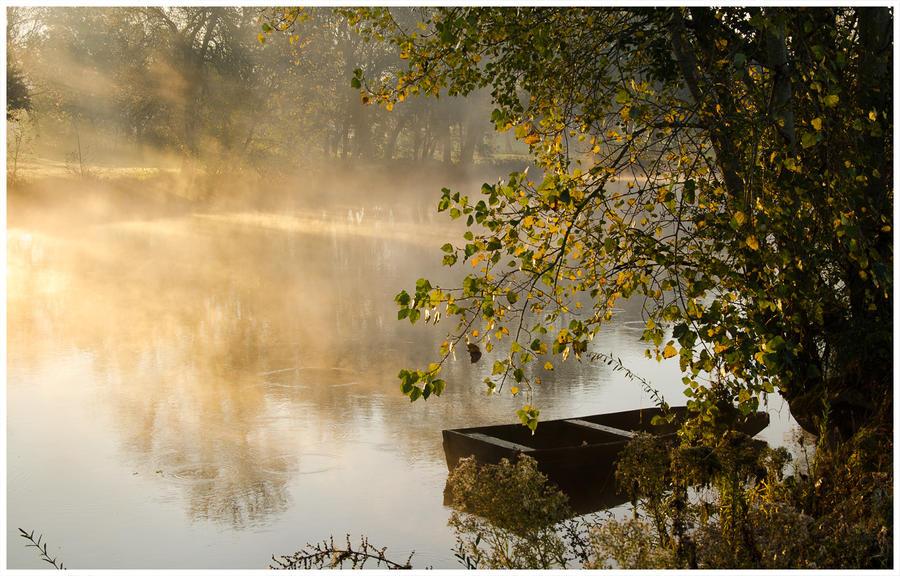 Brume d'automne by vogesen