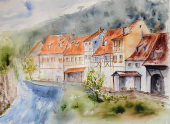 Kaysersberg by vogesen