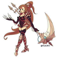 Final Fantasy Tactics Advance: Battle Queen Remedi by yue-li-art