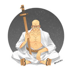 One Piece: Gorosei (Gandhi)