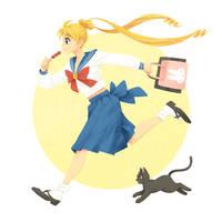 Usagi by yue-li-art