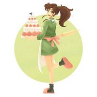 Makoto by yue-li-art