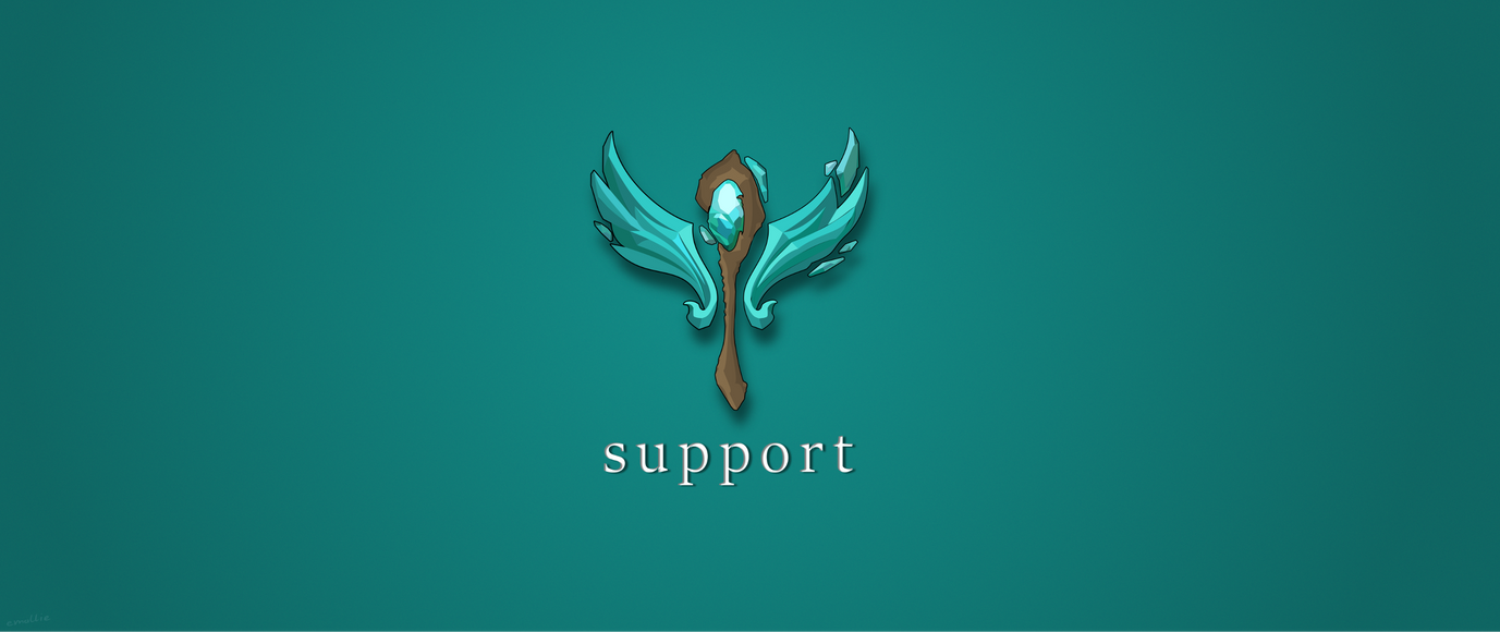 League of Legends support icon by emallie on DeviantArt