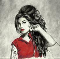 Amy Winehouse by vistaguzza