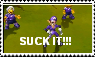Waluigi Crotch Chop Stamp by CommanderMarky