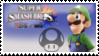 Luigi (Green) Smash 4 Stamp by TheRealMarkyboy