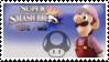 Luigi (Pink) Smash 4 Stamp by DonkeyKongsDab
