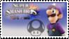 Luigi (Purple) Smash 4 Stamp by DonkeyKongsDab