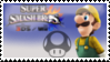 Luigi (Yellow) Smash 4 Stamp by TheRealMarkyboy