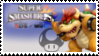 Bowser (Classic) Smash 4 Stamp by DonkeyKongsDab