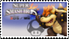 Bowser (Black) Smash 4 Stamp by TheRealMarkyboy