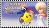 Rosalina and Luma (White) Smash 4 Stamp by TheTrueMarkyboy