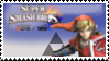 Link (Red) Smash 4 Stamp by TheTrueMarkyboy
