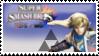 Link (White) Smash 4 Stamp by TheTrueMarkyboy