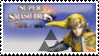 Link (yellow) Smash 4 Stamp by TheTrueMarkyboy