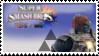 Ganondorf (Blue) Smash 4 Stamp by TheTrueMarkyboy
