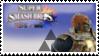 Ganondorf (Gold) Smash 4 Stamp by TheTrueMarkyboy