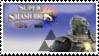 Ganondorf (Grey) Smash 4 Stamp by TheTrueMarkyboy