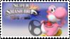 Yoshi (pink) Smash 4 Stamp by DonkeyKongsDab