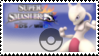 Mewtwo (pink) Smash 4 Stamp by CommanderMarky