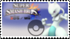 Mewtwo (light blue) Smash 4 Stamp by TheRealMarkyboy