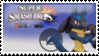 Lucario (dark blue) Smash 4 Stamp by TheRealMarkyboy