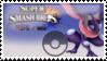 Greninja (dark purple) Smash 4 Stamp by TheRealMarkyboy