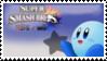 Kirby (Blue) Smash 4 Stamp by TheTrueMarkyboy