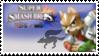 Fox (Classic) Smash 4 Stamp by TheTrueMarkyboy