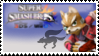 Fox (Red) Smash 4 Stamp by CommanderMarky