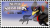 Falco (Black) Smash 4 Stamp by TheRealMarkyboy