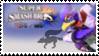 Falco (Purple) Smash 4 Stamp by TheRealMarkyboy