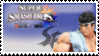 Ryu (white) Smash 4 Stamp by TheTrueMarkyboy